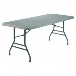 TABLE BASIC RECTANGLE to cover and folding feet