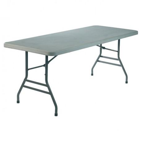 TABLE BASIC RECTANGLE a napper et pieds pliants