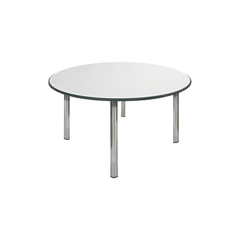 table ronde napper 6 couverts aliance mobilier