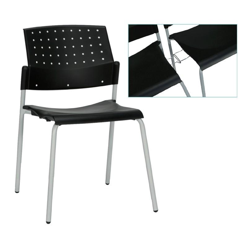 chaise aral avec liaison barre de sol aliance mobilier. Black Bedroom Furniture Sets. Home Design Ideas