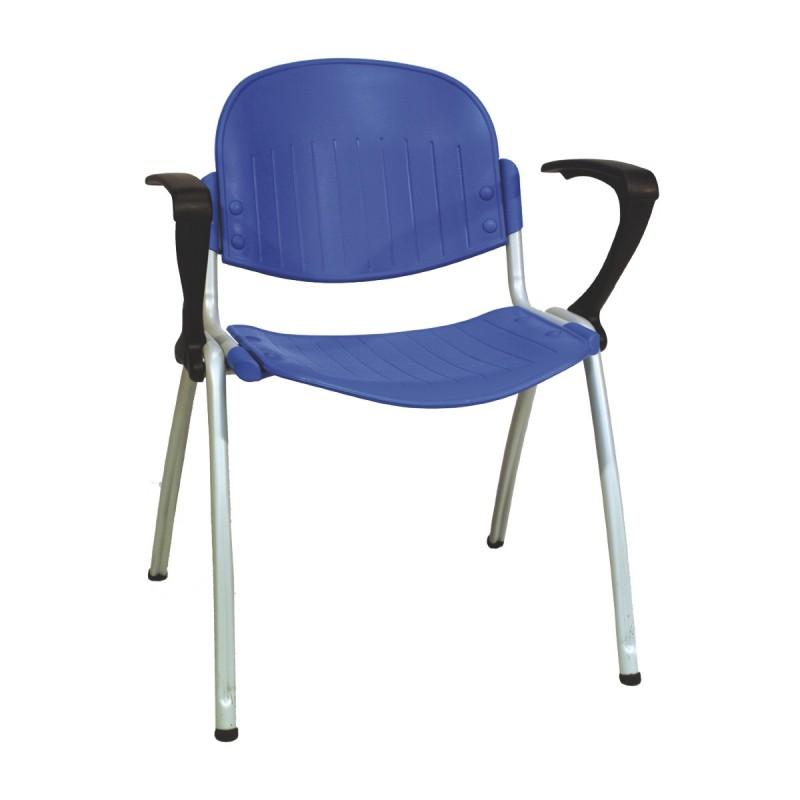 Chaise oker avec accoudoirs aliance mobilier - Chaise avec accoudoirs ...