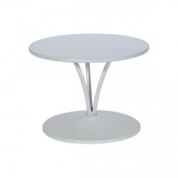 Table Basse TRILOGIE Blanche - D60cm