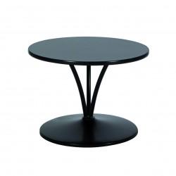 Table Basse TRILOGIE Noire - D60cm