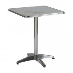 Table DISILQ Carré Alu