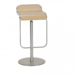 Stool PRINTEMPS with cylinder and swinging